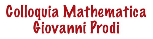 Collquia Mathematica Giovanni Prodi